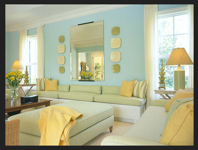 The New Guest Bedroom Pastel Yellow Blue Green It All Works