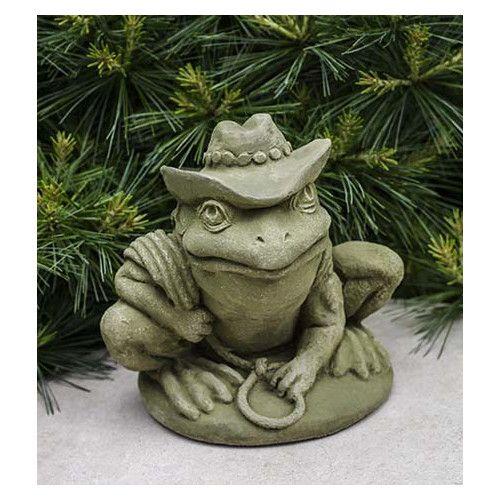 Found it at Wayfair - Cowboy Frog Statue