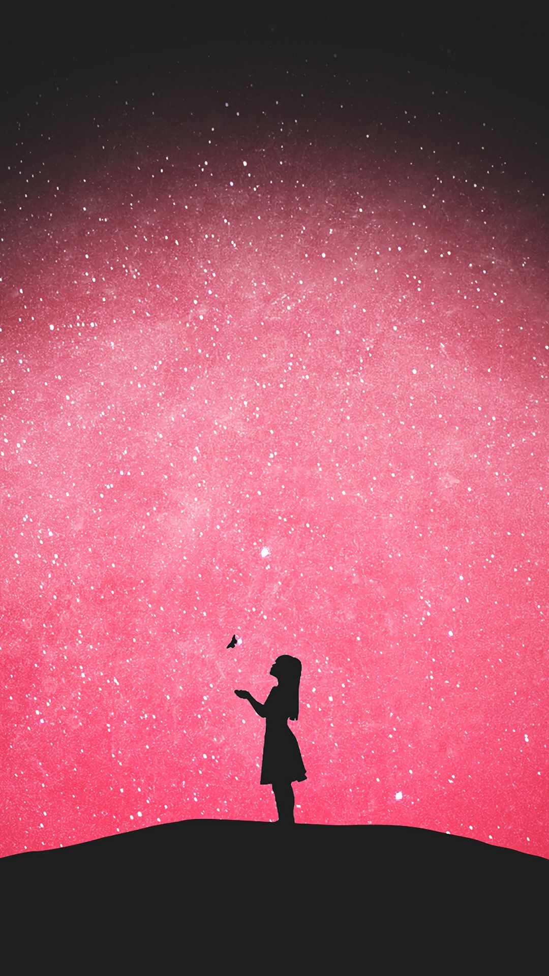 Butterfly Silhouette Girl Vector Wallpaper Lockscreen Mobile Android Ios Infinitywallpaper Art Wallpaper Cute Wallpapers Cute Wallpaper Backgrounds