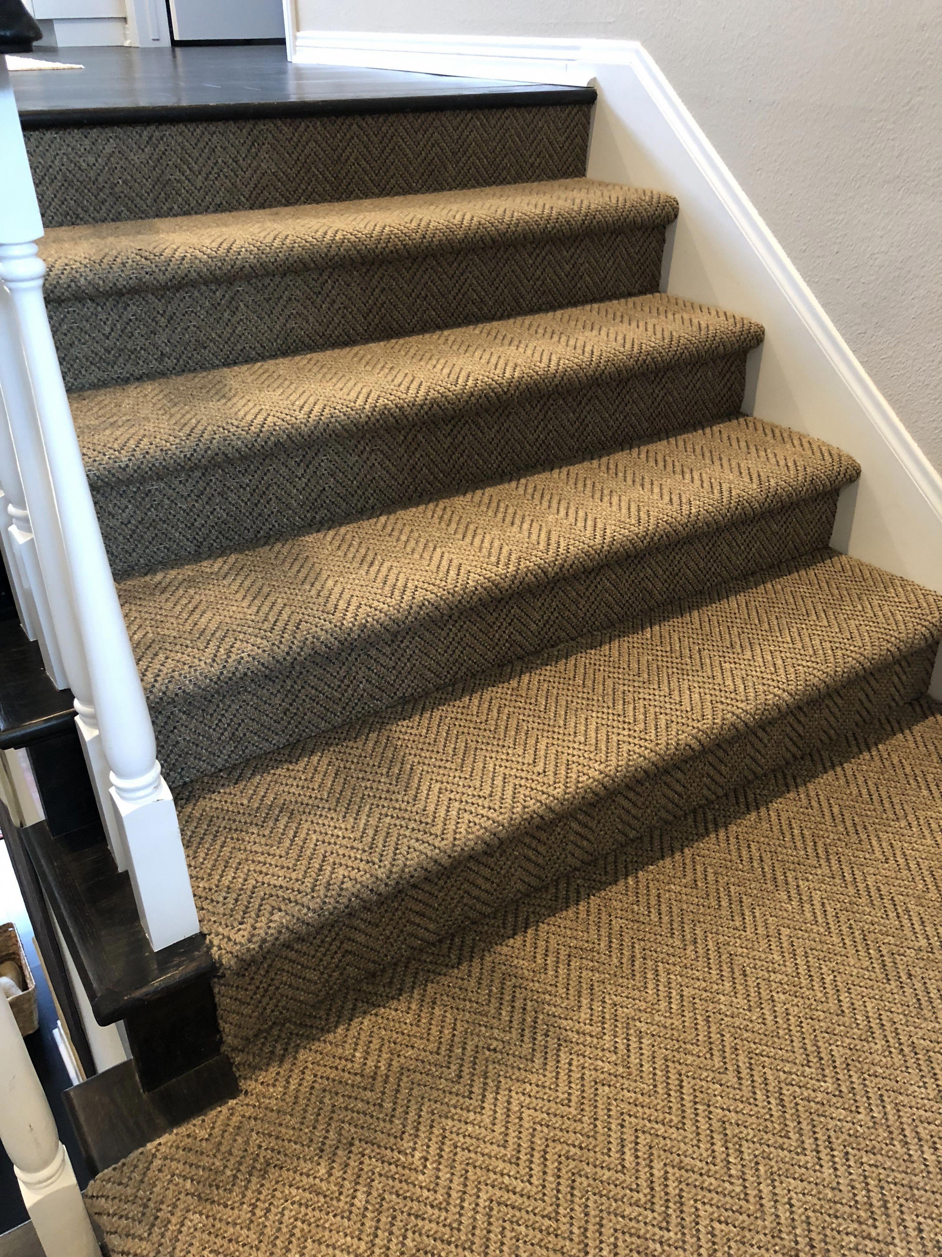 Herringbone Pattern Stair Runner Stair Runner Carpet Carpet Runner Stair Runner