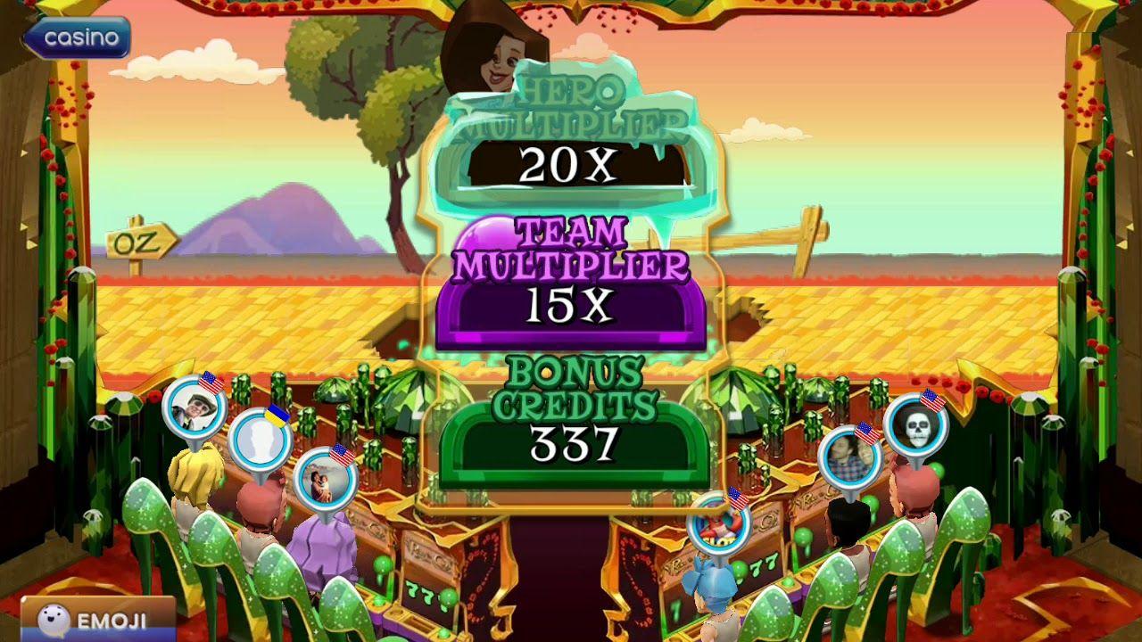 Pop! Slots Wizard of Oz Bonus Las vegas, Cirque du