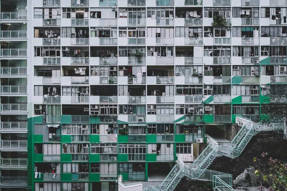 Architectural Patterns of Hong Kong's Buildings by Vivien Liu #inspiration #photography