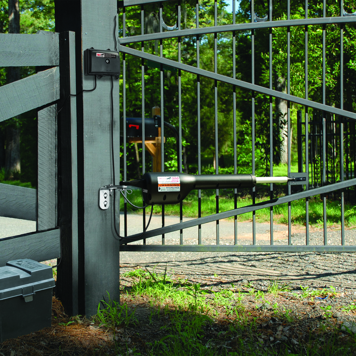 Mighty Mule Fm200 Diy Automatic Gate Opener Automatic