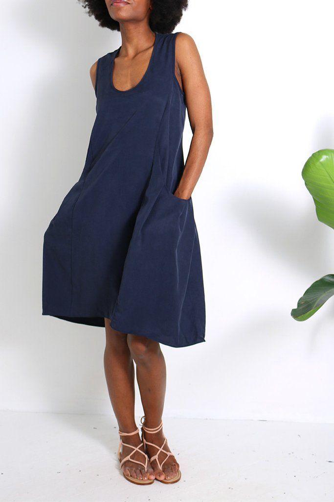 Deep Pockets Dress - Natalie Busby