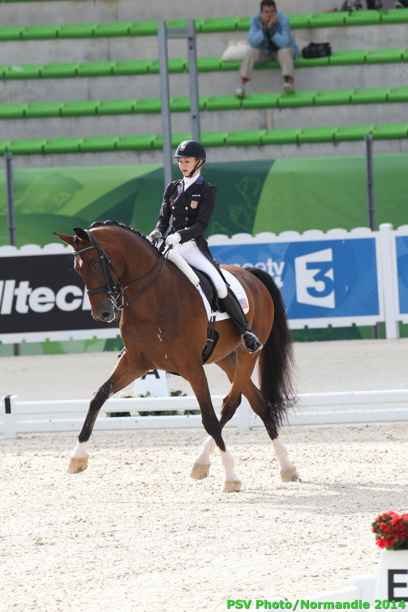 Dressage - Laura GRAVES - VERDADES - USA - August 26th - Copyright : PSV Photo