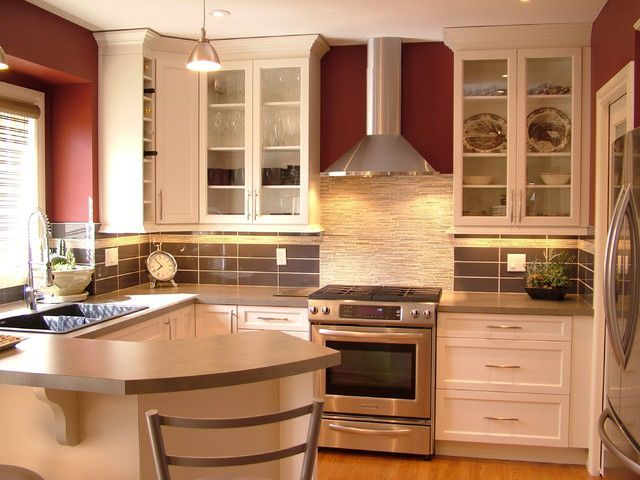In A Kitchen Design Ideas For Small Spaces Every Inch Should Be Used, The  Areas