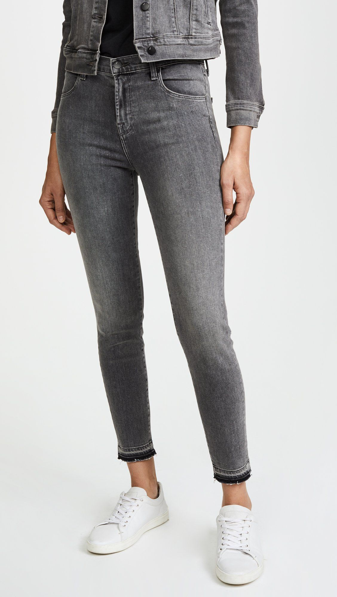 0927ef975a5a J Brand Jeans Womens Alana High Rise Crop Skinny Earl Grey 30 * Check out  this great product.(It is Amazon affiliate link) #WomenJeansCollection