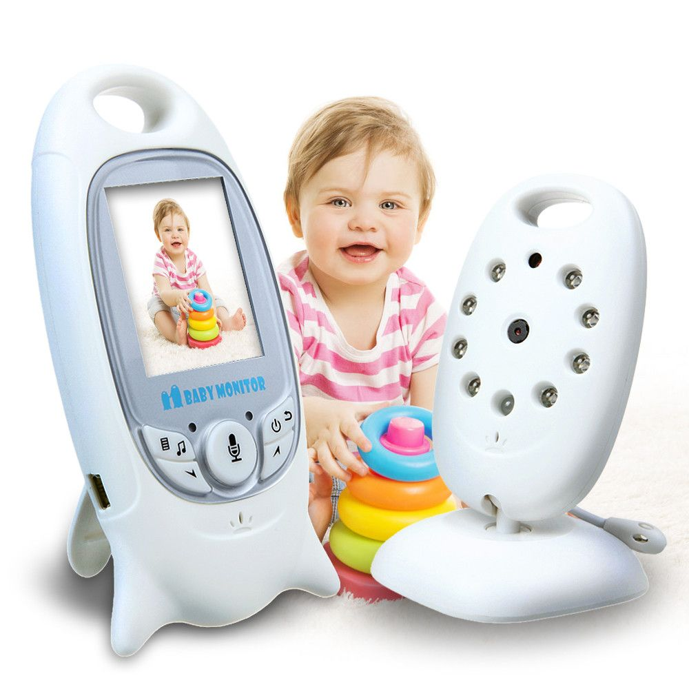 Wireless 2.4GHz Video Baby Monitor Camera Night Vision 2-Way Talk Digital LCD