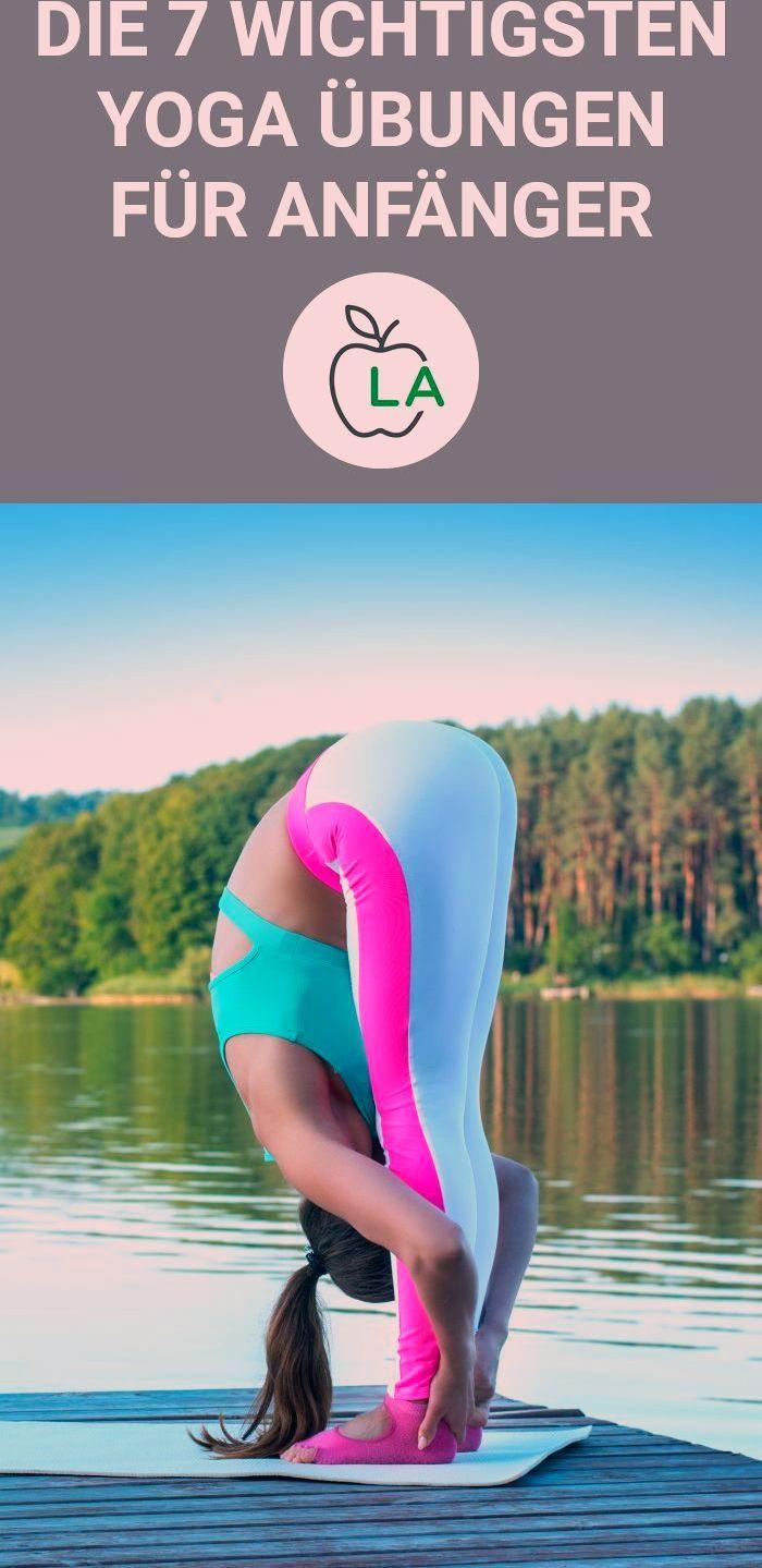 Yoga Anfänger sollten nur bestimmte Übungen machen. In diesem Artikel zeigen wir dir Bilder und Anle...