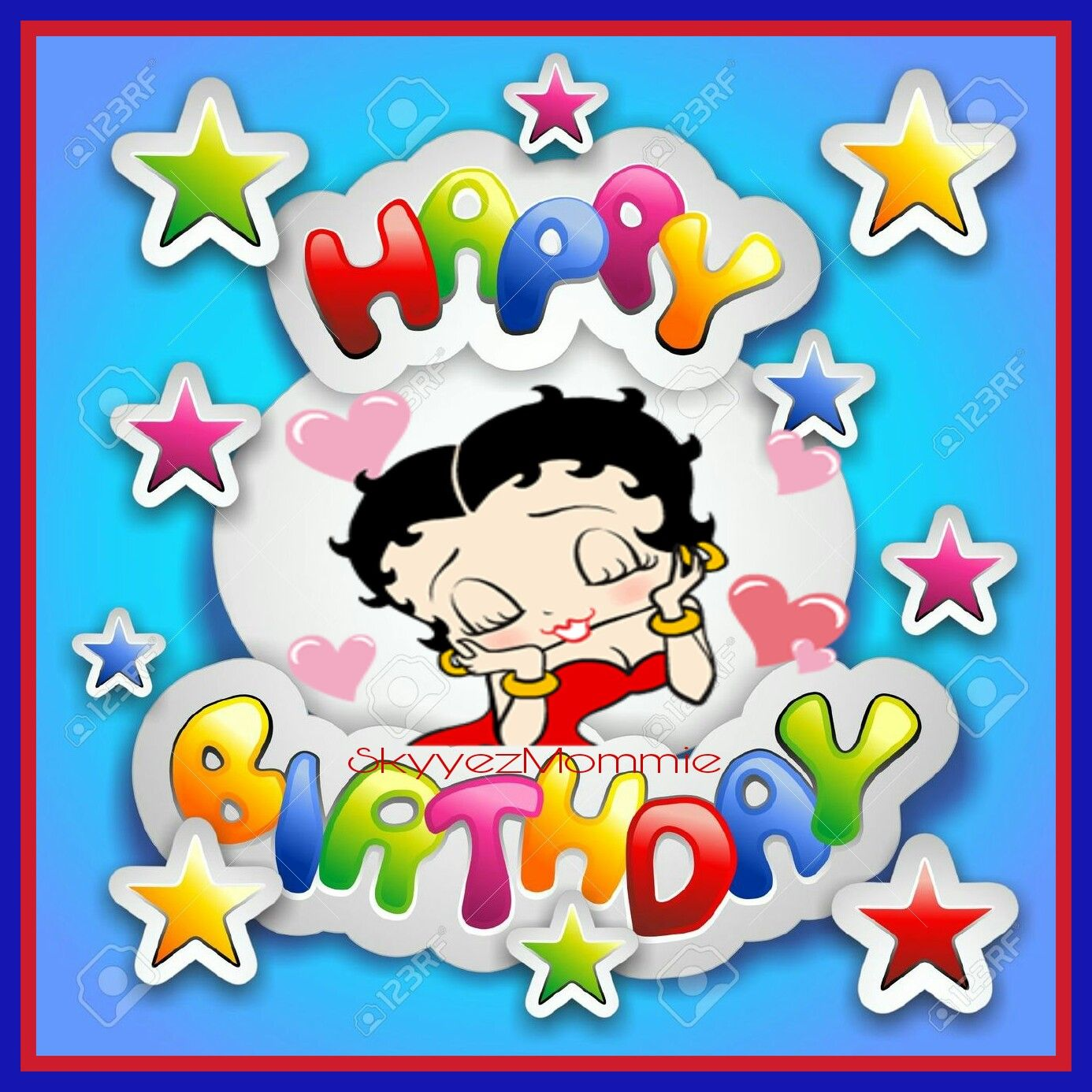 Betty Boop Happy Birthday