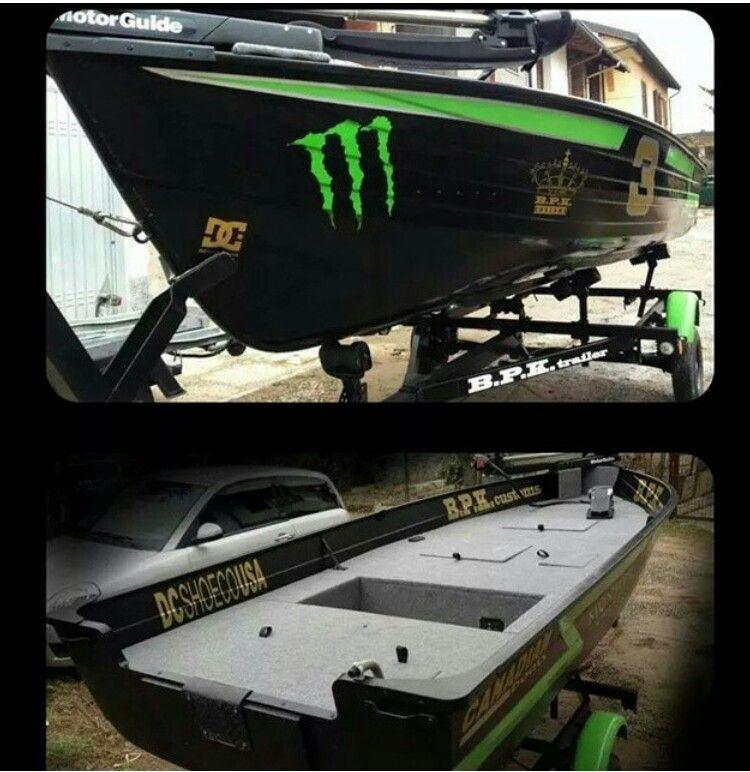 Monster jon boat