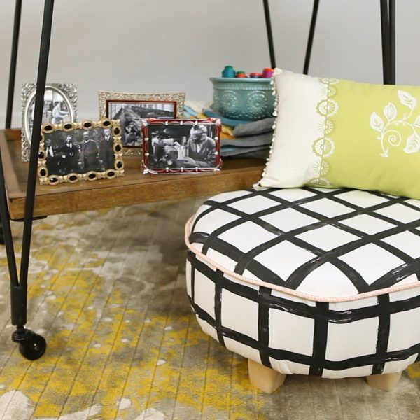 Upholstery 101: The Tuffet | sewing | Pinterest