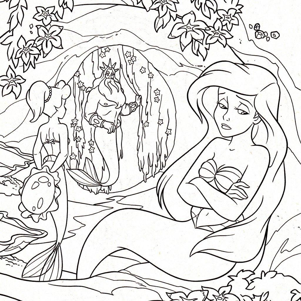 Pocahontas coloring book coloring page all disney princess