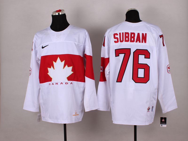 NHL Winter Olympics Canada Hockey Jerseys 28