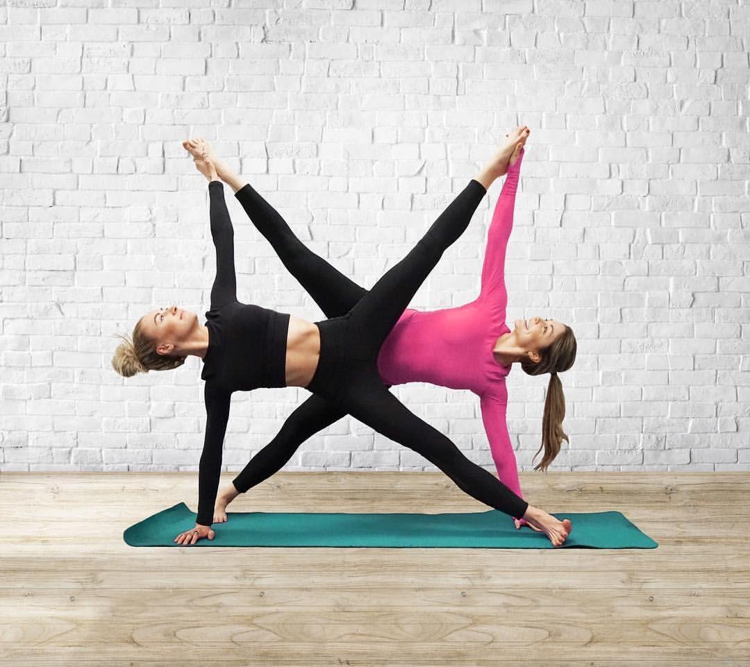 Crazy Partner Yoga Poses