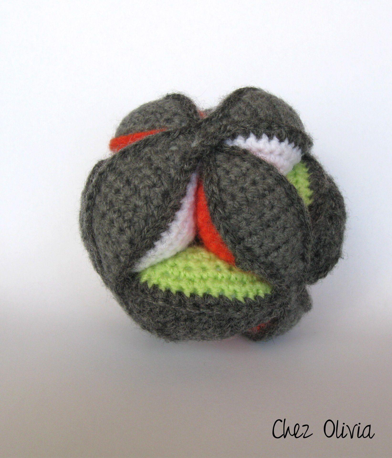 Balle montessori au crochet :le tuto en français | Pinterest ...