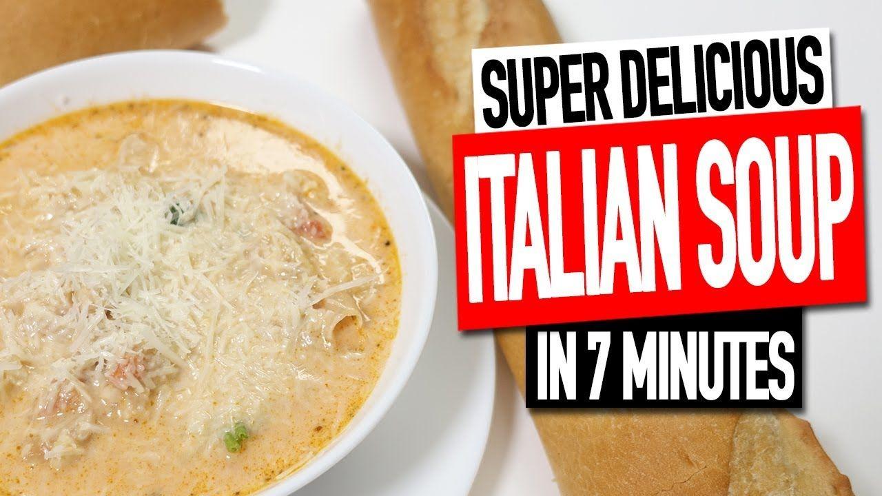 NINJA FOODI ITALIAN SOUP AWESOME SOUP IN 7 MINUTES