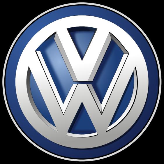 Volkswagen logo 2012.svg Volkswagen logo, Car logos