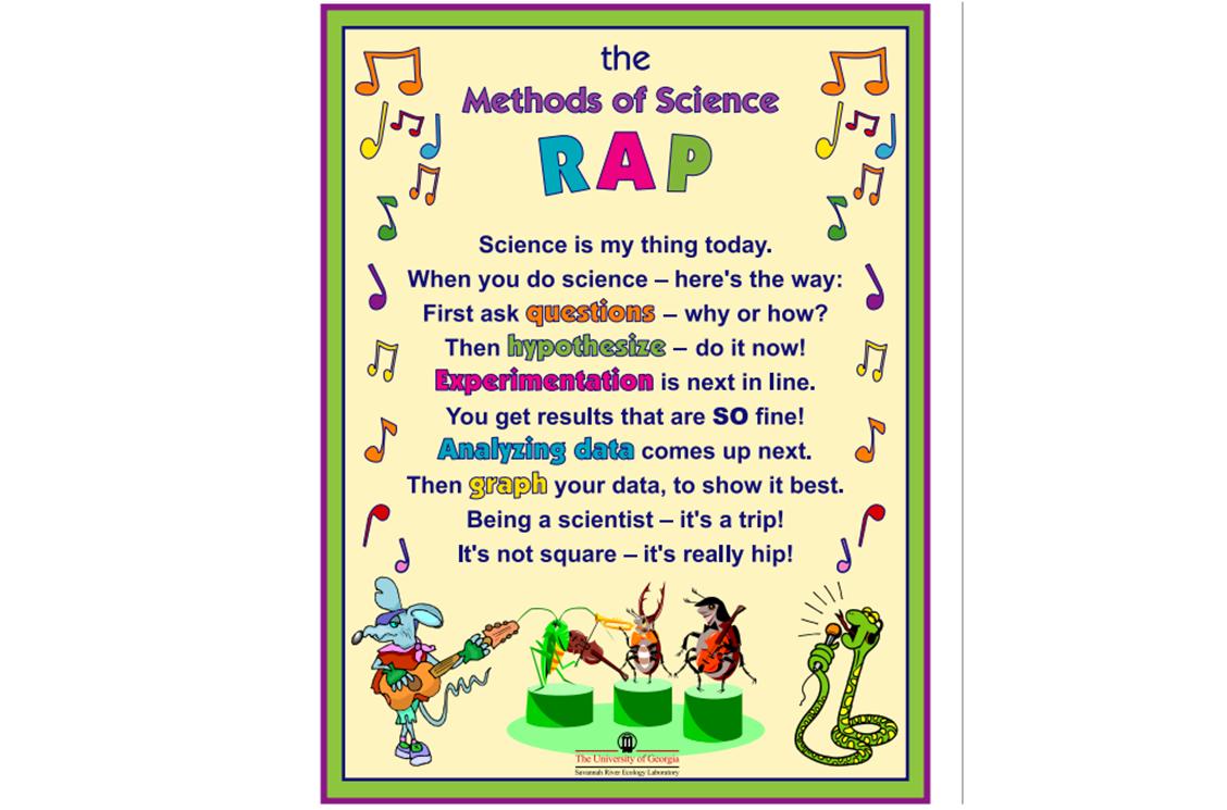 Science teacher bonanza kids do science fun raps cute posters