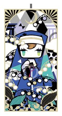 life. love. cute anime girls, Tarot cards from Genei wo
