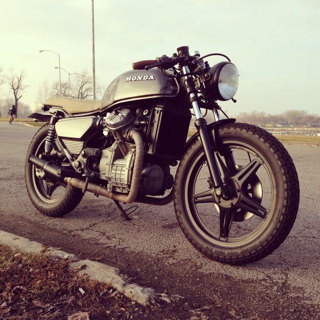 Honda Cx500 Cafe Exhaust: Moto-Mucci Honda CX500 Cafe Motorcycle