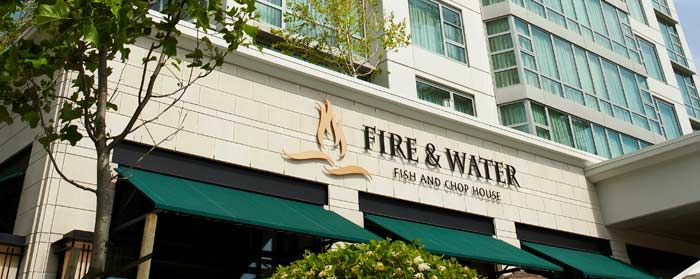 Fire Water Fish And Chophouse Restaurants Pinterest
