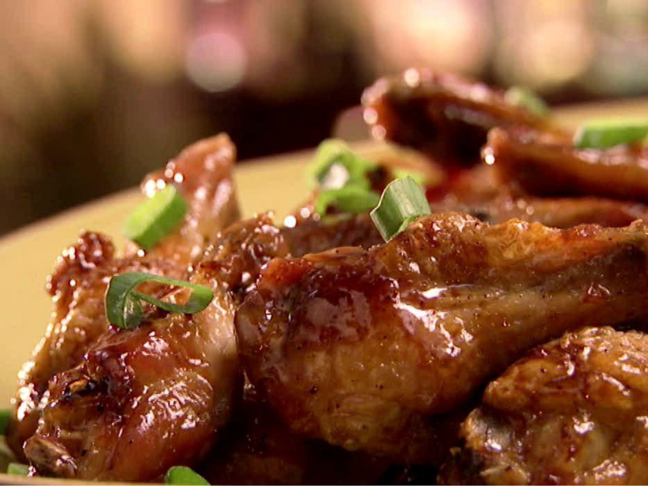 Sweet and spicy sticky wings recipe recipes food and dishes dinners forumfinder Images