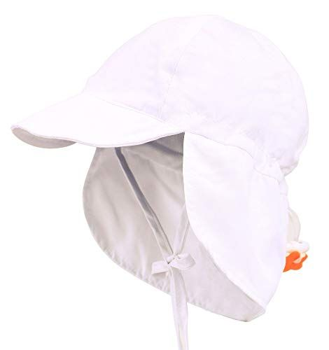 76f56cdd6d492 ThunderCloud Kid s SPF 50+ UV Sun Protective Adjustable Baby Hat ...