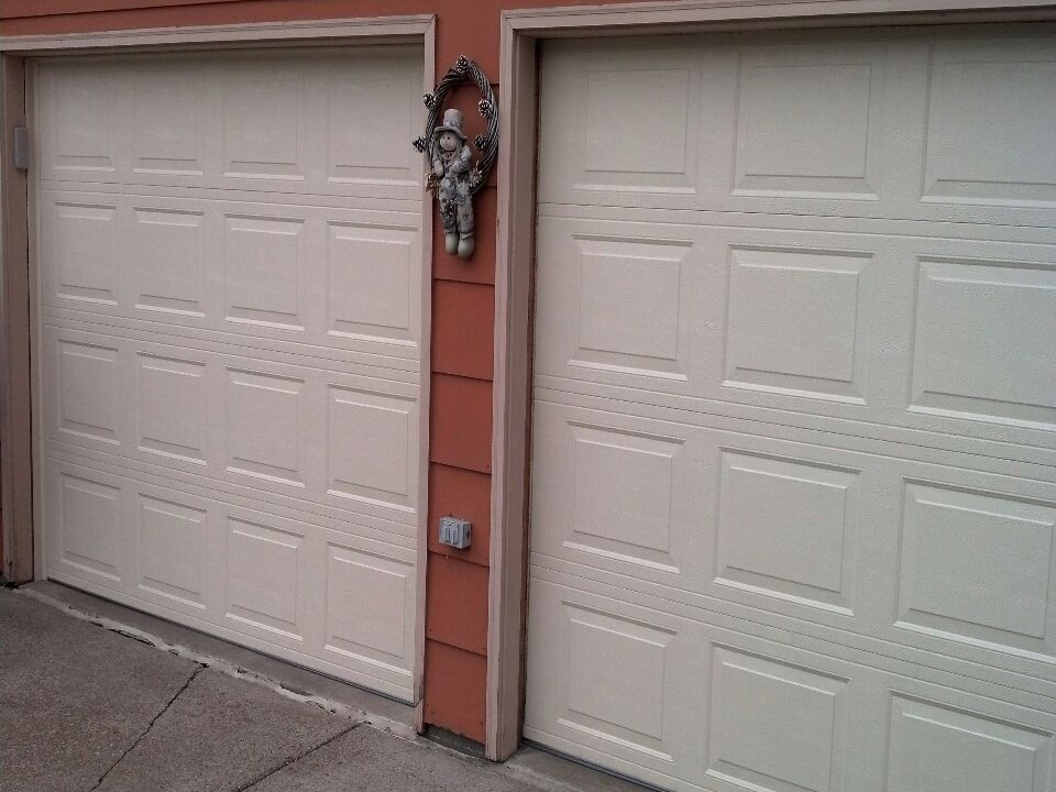 Jon Installed 2 Almond Near Girard Curve, Bloomington, MN 55431. Your Garage  Door Repair Or Replacement Job In ...