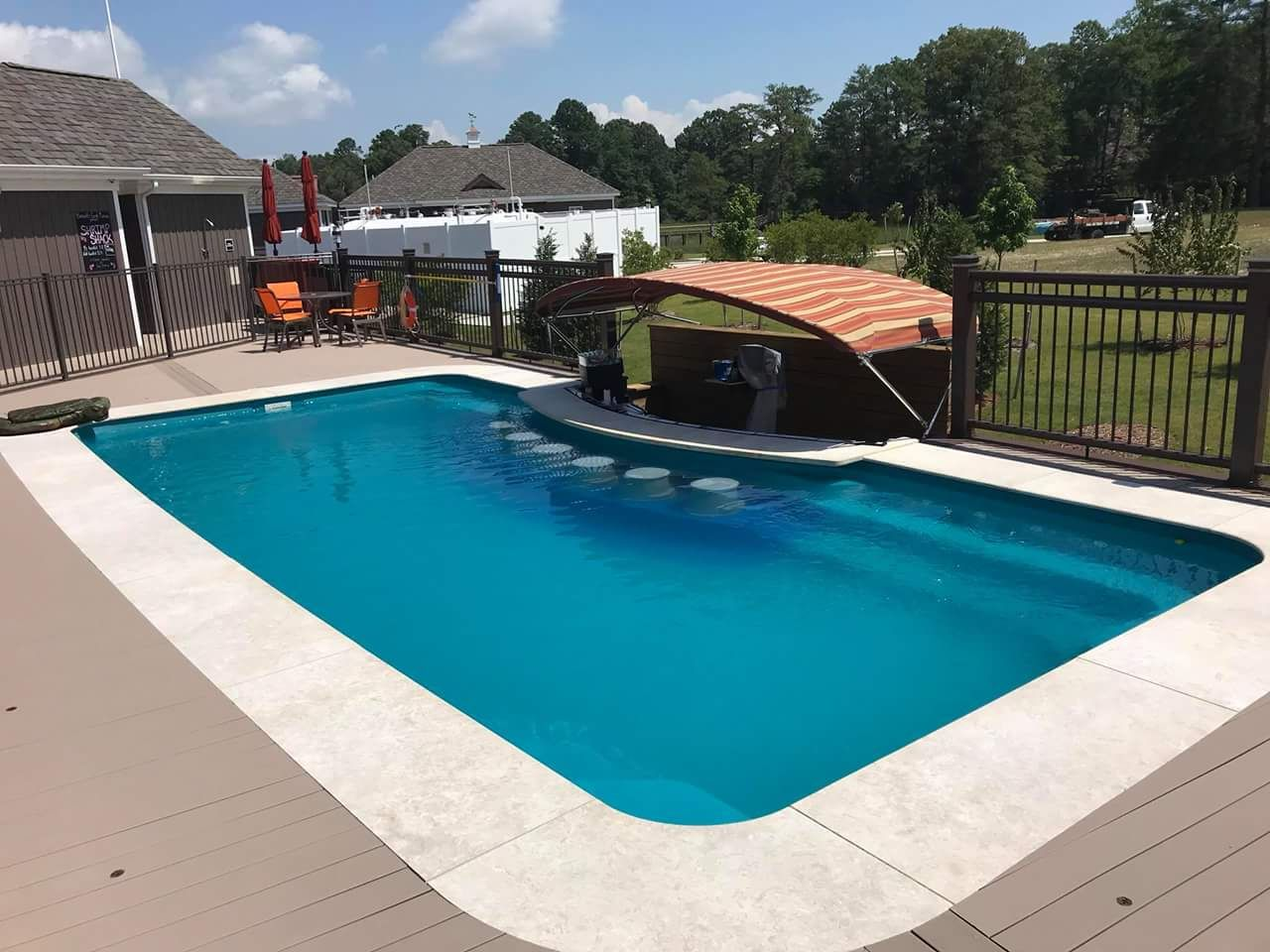 Our Mission At Leisure Pools Is To Help You Enjoy Your Life Of Leisure So If That Includes Turning A Portion Of Your Le Backyard Vacation Leisure Pools Pool