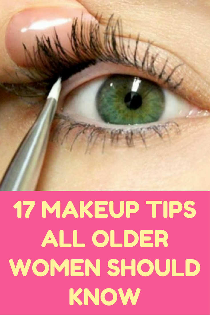 11 Makeup Tips All Older Women Should Know  Makeup tips, Makeup
