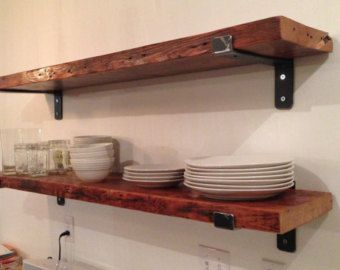 9.5 Deep by 1.5 Thick Reclaimed Wood Shelves by PacificoReclaimed ...