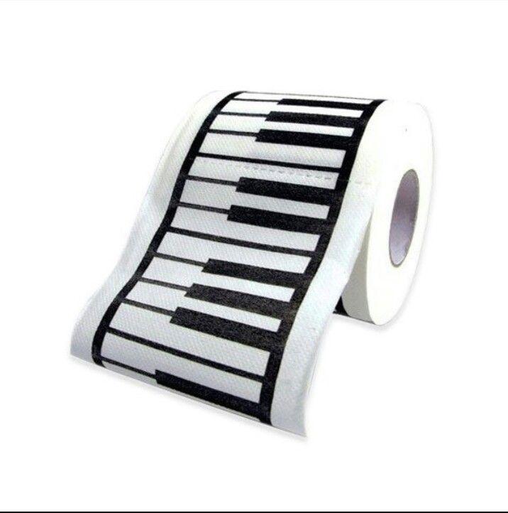 Piano toilet paper