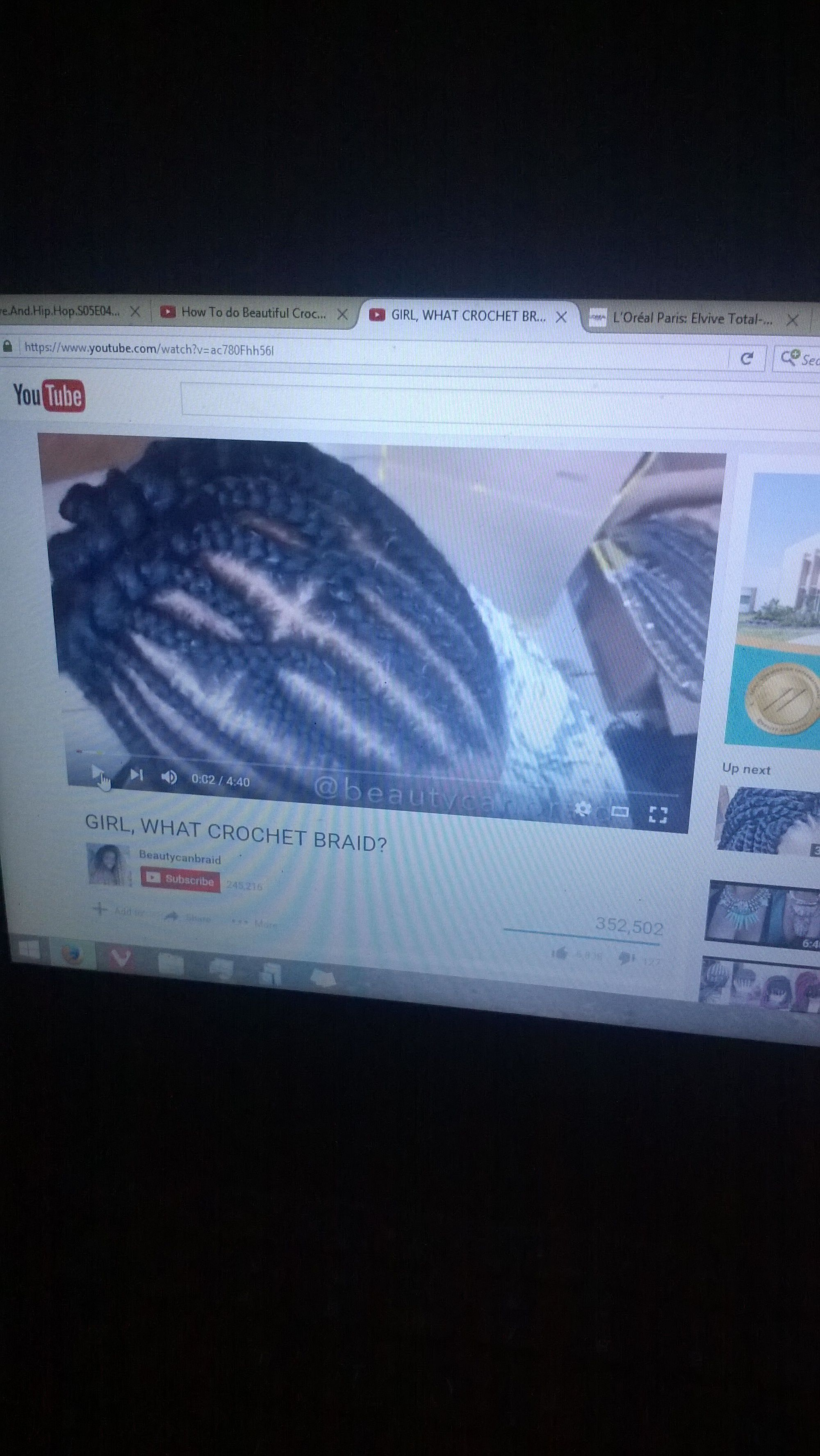 Crochet braid pattern part 2 | Hairstyle Tips and Trends | Pinterest ...