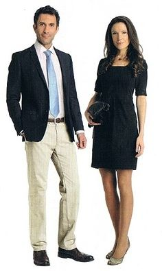 example  men's contemporary business casual with images