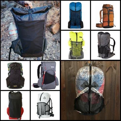 xpac material Bear ULA roll top dry bag backpacking food bag for hiking