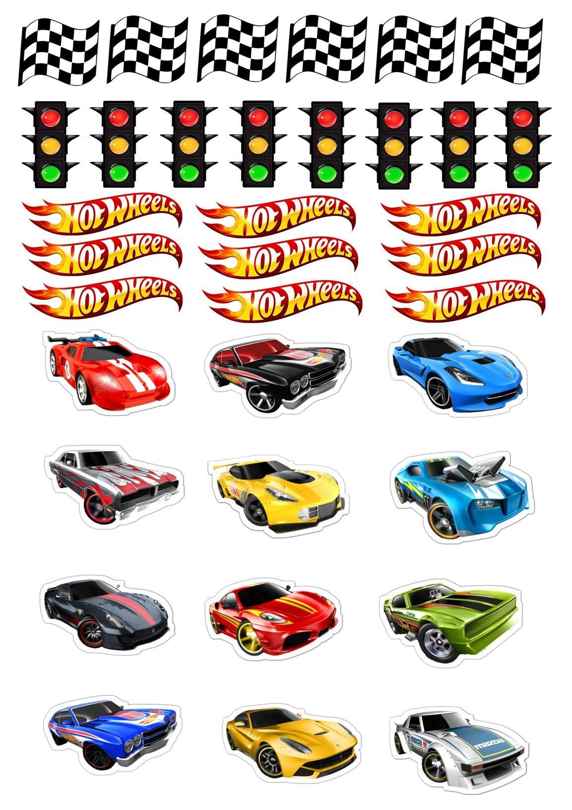 Topper Hot Wheels Aniversario Hot Wheels Festa Hot Wheels Hot Wheels