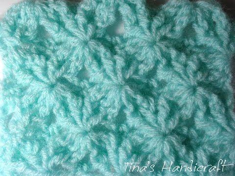 Tina's handicraft : flowers crochet stitch