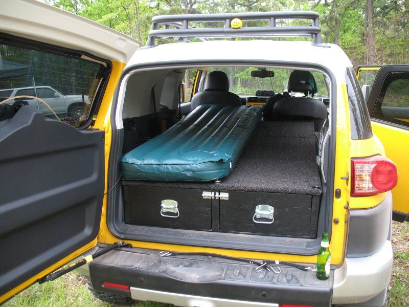 Project Toyota Fj Cruiser Sleeping Platform Cargo