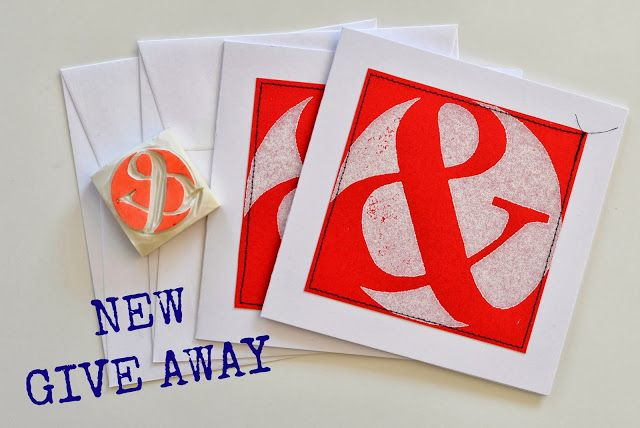 Ampersand GIVE AWAY!