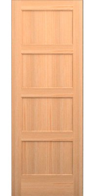 Karona Door Paneled Manufactured Wood Primed Standard Door Species Knotty Alder Size 28 X 80 Glass Barn Doors Glass French Doors Panel Doors