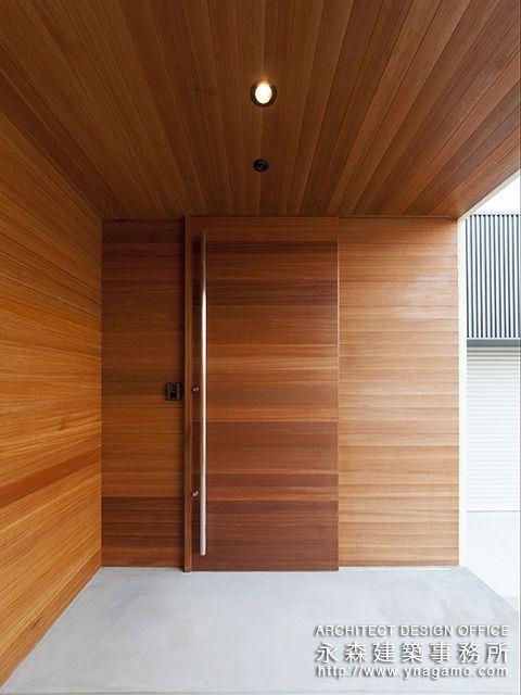 無垢っぽい玄関ドアにしたい 和風の家の設計 玄関ドア おしゃれ