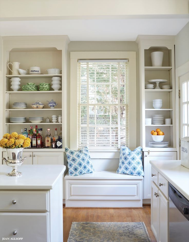Kitchen Window Seat kitchen window seat. | cottage chic / landlebenlonasart