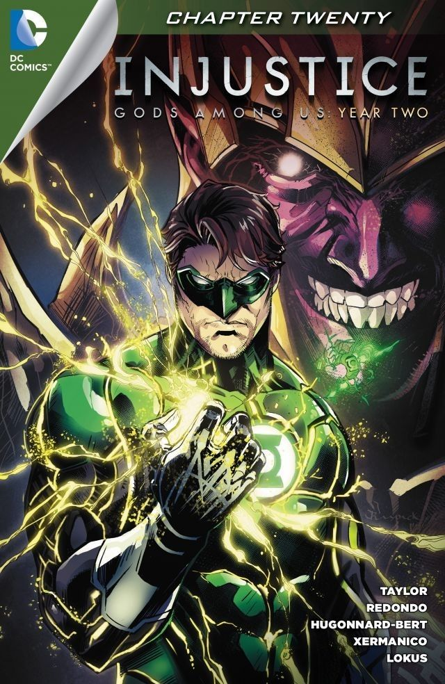 Injustice Gods Among Us Year Two (2014) 20 Green