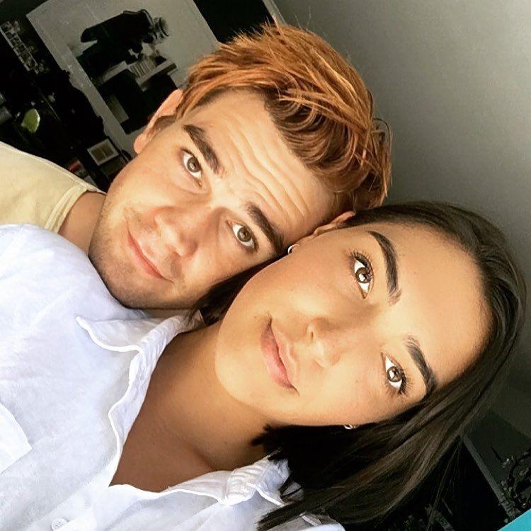 Kj Apa And His Sister Apa Riverdale Celebs