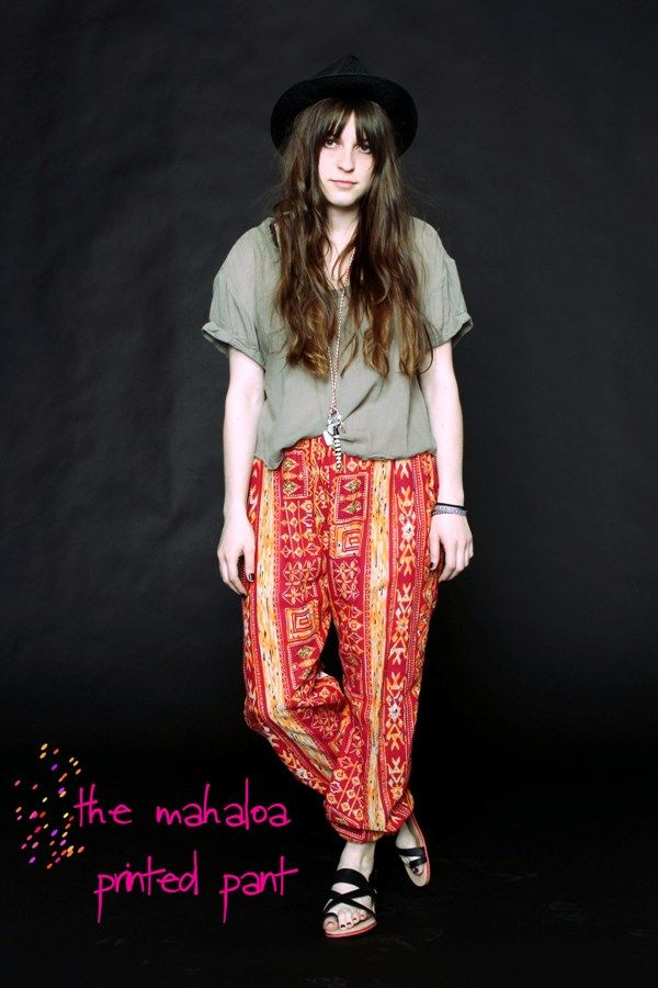 Trend: Balloon Pants  http://blog.freepeople.com/2012/04/trend-balloon-pants/