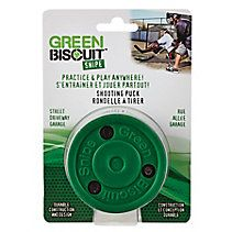Green Biscuit Snipe Passing And Shooting Practice Hockey Puck