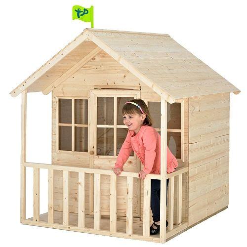 Casa de madeira infantil brincar ao ar livre casas casinha infantil y madeira - Casitas de tela para ninos toysrus ...