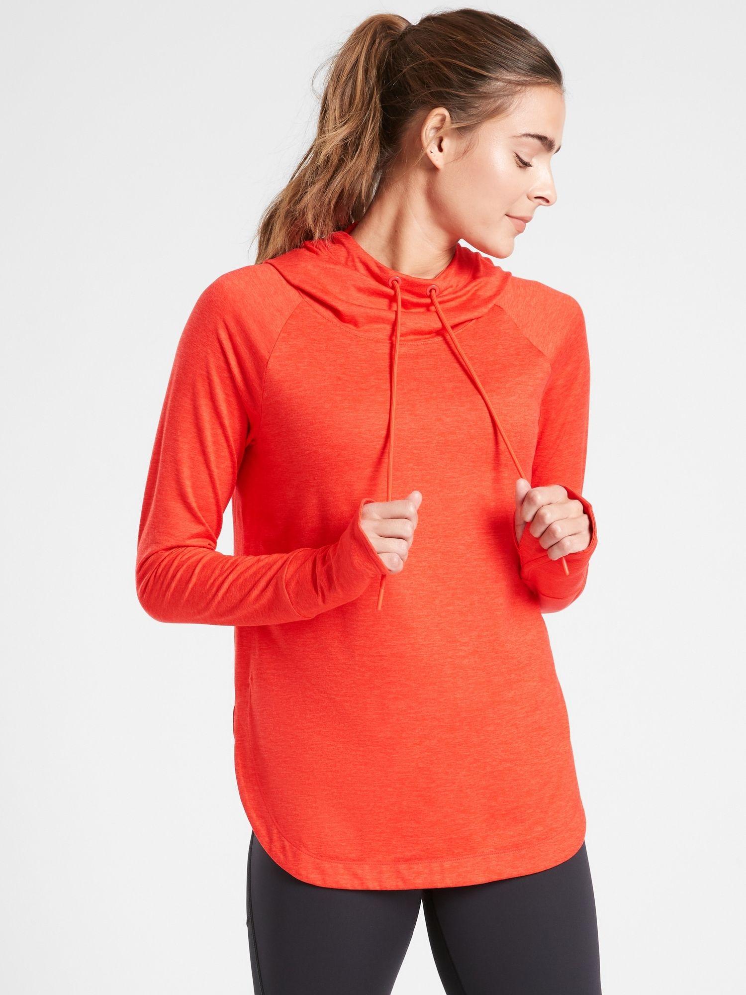 Uptempo Hoodie Sweatshirt Athleta Sweatshirts Hoodie Workout Tops For Women Running Clothes Women [ 2000 x 1500 Pixel ]