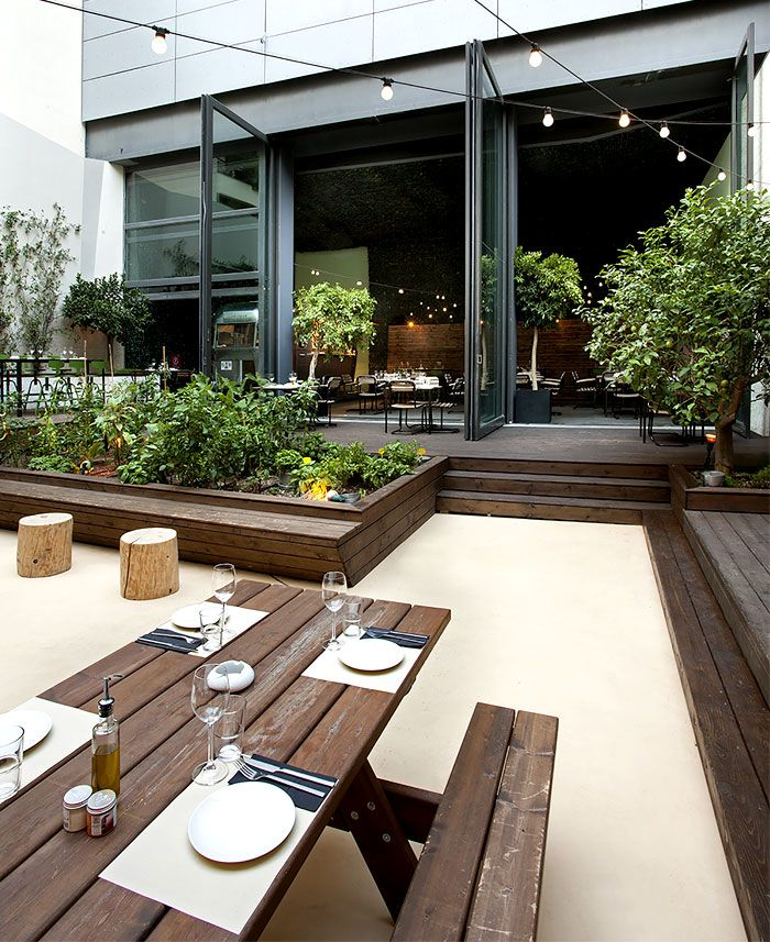 Urban Garden Restaurant in Athens is part of Indoor garden Restaurant -  Urban Garden  is very happily chosen and descriptive name for this contemporary and artistic restaurant project located in Athens, Greece  The architects from